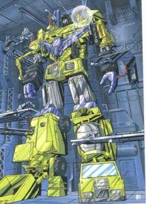 devastator transformer yang kartun